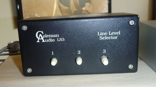 Coleman Audio LS3 Switcher