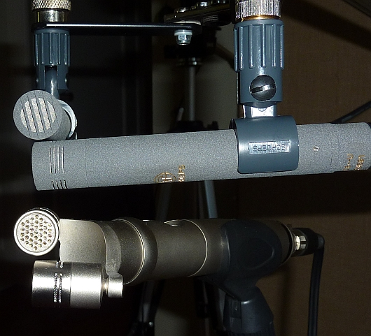 Schoeps CMC64 and Rode NT4 for comparison